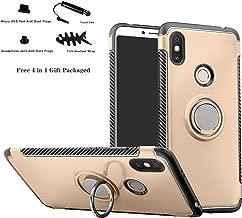 Redmi S2 (Redmi Y2) case,Labanema Hybrid Dual Layer 360 Degree Rotation Ring Holder Kickstand Armor Slim Protective Cover for Xiaomi Redmi S2 (Redmi Y2) - Gold