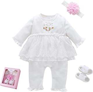Baby Brielle Layette Onesie in Gift Box