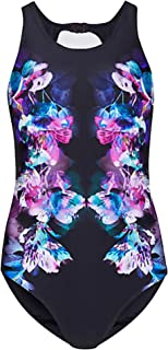 ff489039c3 Marks & Spencer Secret Slimming High Neck Floral Print Swimsuit M&S  Swimming Costume