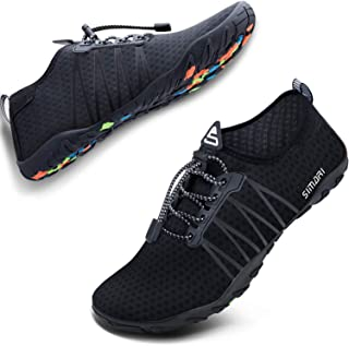 SIMARI Mens Womens Water Shoes Sports Quick Dry Barefoot Diving Swim Surf Aqua Walking Beach Yoga