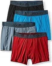 Jockey Life 4-Pack Men's Fresh Microfiber Stretch Boxer Briefs - Assorted Color