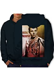 Wellcoda Celebrity Audie Murphy Mens Sweatshirt Famous Casual Pullover Jumper