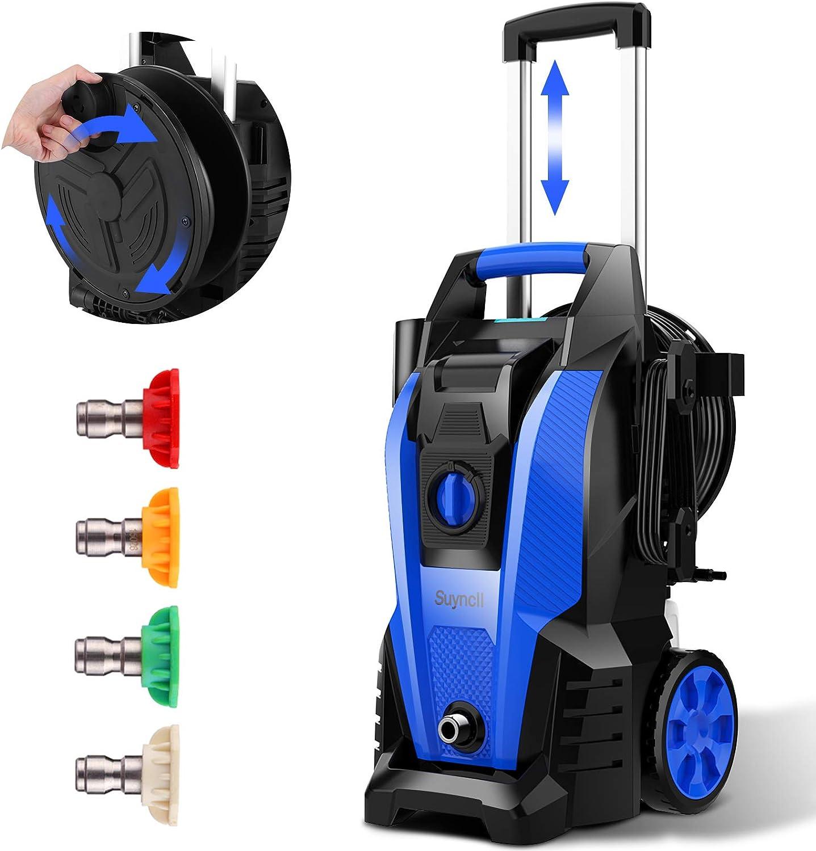 All items San Antonio Mall free shipping Power Washer Suyncll Pressure 3800 Max 2000W Electri PSI