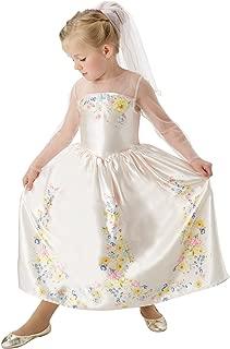 Rubie´s Official Disney Cinderella Live Action Cinderella-Wedding Dress, Child Costume - S