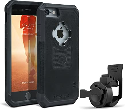 featured product Rokform [iPhone 7 & 8] Sport-Series Portable Bike Mount / Holder & Protective Phone Case, Twist Lock Security