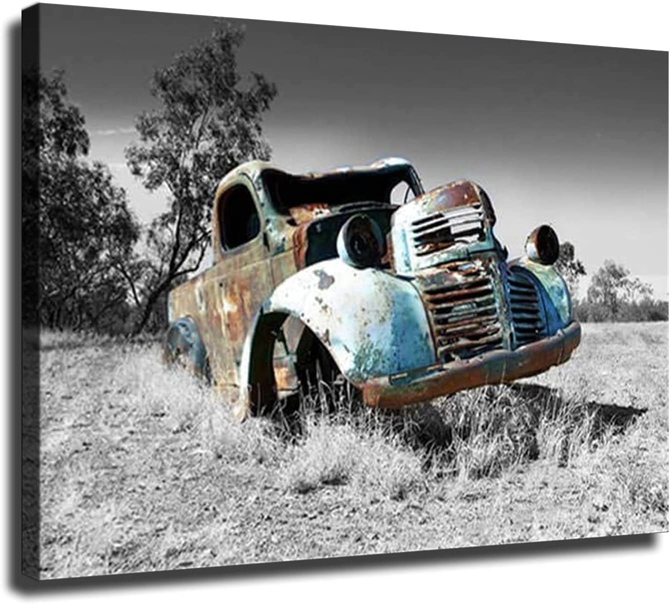 Home Sale SALE% OFF Decor Print Oil Painting on Pictures Truck Art Wall 5% OFF Canvas