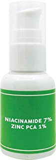 Niacinamide 7% Zinc PCA 1%, Face Serum to Visibly Improve Blemishes & Enlarged Pores, Vegan & Cruelty Free, 1oz