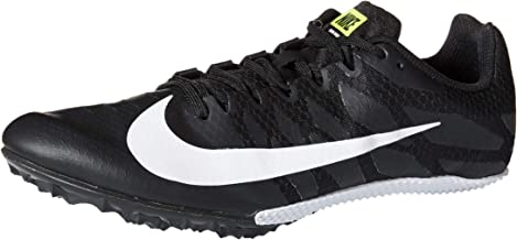 black and white nike track spikes
