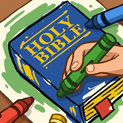 Bible Coloring Book For Learning with Jesus