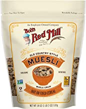 Bob's Red Mill Resealable Old Country Style Muesli Cereal, 18 Oz (4 Pack)