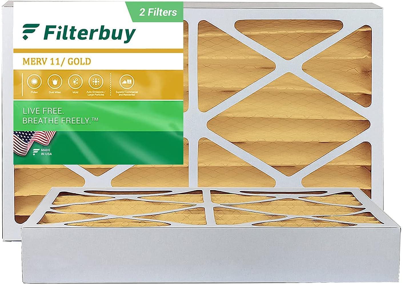 Surprise price FilterBuy Max 40% OFF 11.5x21x4 Air Filter MERV Furnace HVAC 11 Pleated AC
