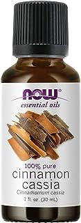 NOW Essential Oils, Cinnamon Cassia Oil, Warming Aromatherapy Scent, Steam Distilled, 100% Pure, Vegan, Child Resistant Ca...