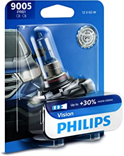 Philips 9005PRB1 9005 Upgrade Headlight Bulb with up to 30% More Vision, 1 Pack