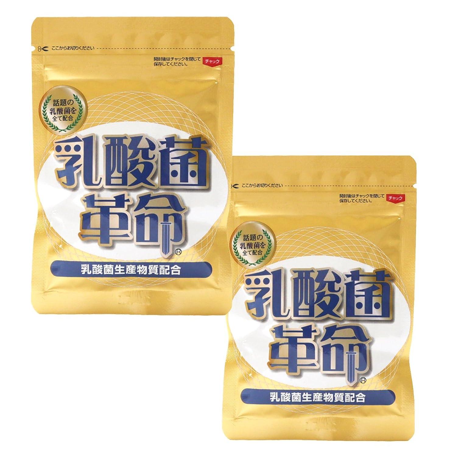 細分化するより等健康いきいき倶楽部 乳酸菌革命 2袋セット (62粒入×2袋)