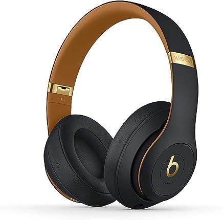 Beats Studio3 Wireless Over-Ear Headphones – The Beats Skyline Collection - Midnight Black (Renewed)