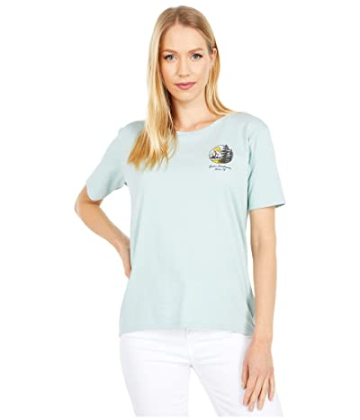 Burton Ashmore Short Sleeve Scoop T-Shirt (Ether Blue) Women