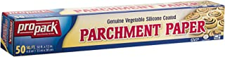 Propack Non Stick Parchment Baking Paper, Great For All Types Of Cooking, Or Baking, Size 12 x 50, 1 Pack