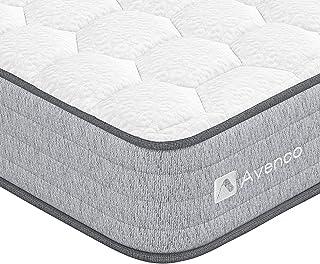 Avenco マットレス ダブル 高反発マットレス 並行配列 ベットマット コイル数682個 極厚20cm ベッドマットレス ポケットコイルマットレス ダブルマットレス 圧縮梱包