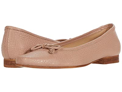 KAANAS Riga Square Toe Ballet Flat (Blush) Women