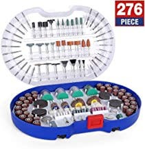 WORKPRO 276-piece Rotary Tool Accessories Kit Universal Fitment for Easy Cutting, Carving..
