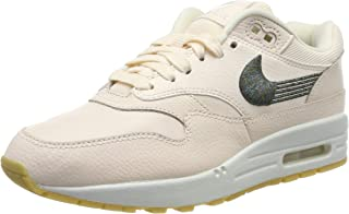 Nike Womens Air Max 1 PRM Trainers 454746 Sneakers Shoes