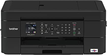 Brother Wireless All-in-One Inkjet Printer, MFC-J491DW, Multi-Function Color Printer,..