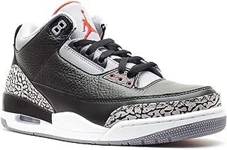Nike Air Jordan 3 Retro Black Cement (136064-010) (Mens US8.5)