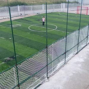 NIUFHW Child safety net protective net decoration net out White Protective Net Basketball Net  Garden Fence Decoration Ball Mesh Hanging Net Multiple Indoor landscaping safety railing stairs