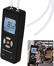 Digital Handheld Manometer HVAC Air Vacuum/Gas Differential Pressure Gauge Meter Tester 11 Units with Backlight, ±13.78kPa ±2PSI, 1-2 Pipes Ventilation Air Condition System Measurement