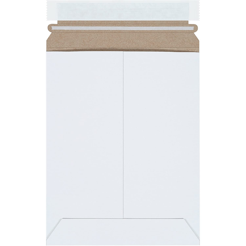 Free shipping BOX USA shop Self-Seal Stay Flat Mailer x White 7
