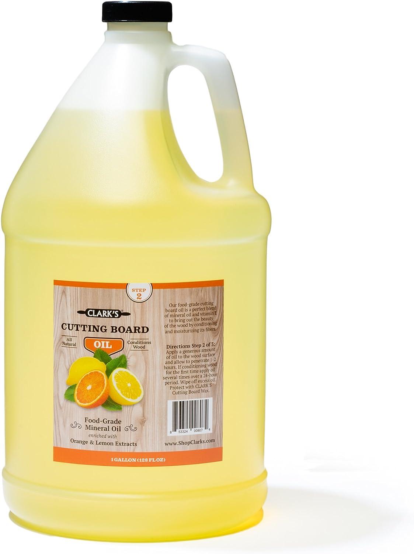 Butcher Block Oil 1 Gallon 購入 by - Boa 超歓迎された Food-Grade Cutting CLARK'S