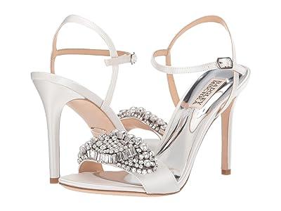 Badgley Mischka Odelia (Soft White) High Heels