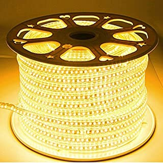 Improvhome LED Strip Light Waterproof Roll 20 Meter (120 led/Mtr) Warm White