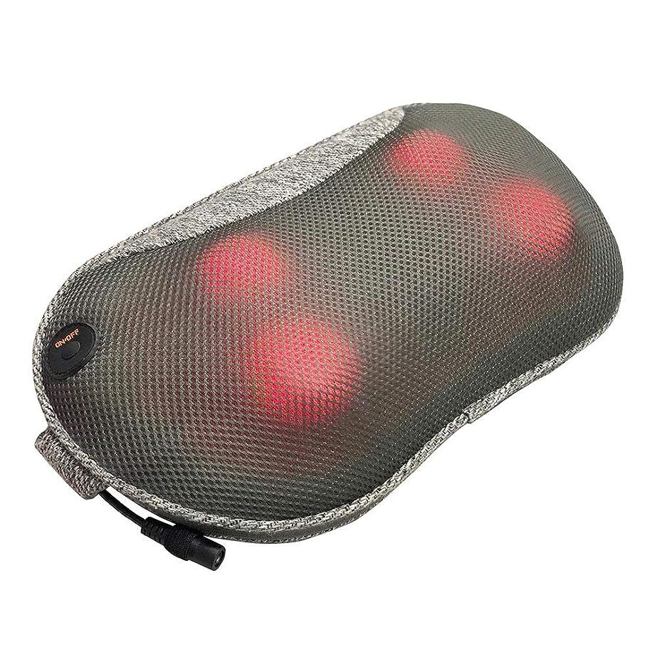 毎日手火炎ドクターエア 3DマッサージピローS コードレス MP-05 グレー