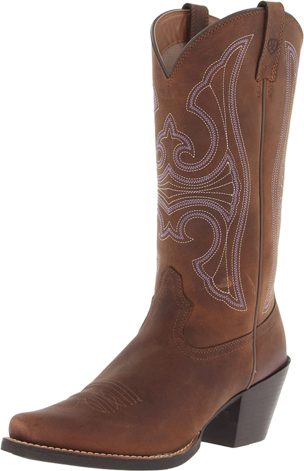 Ariat Women's Round Up D Toe Western Boot