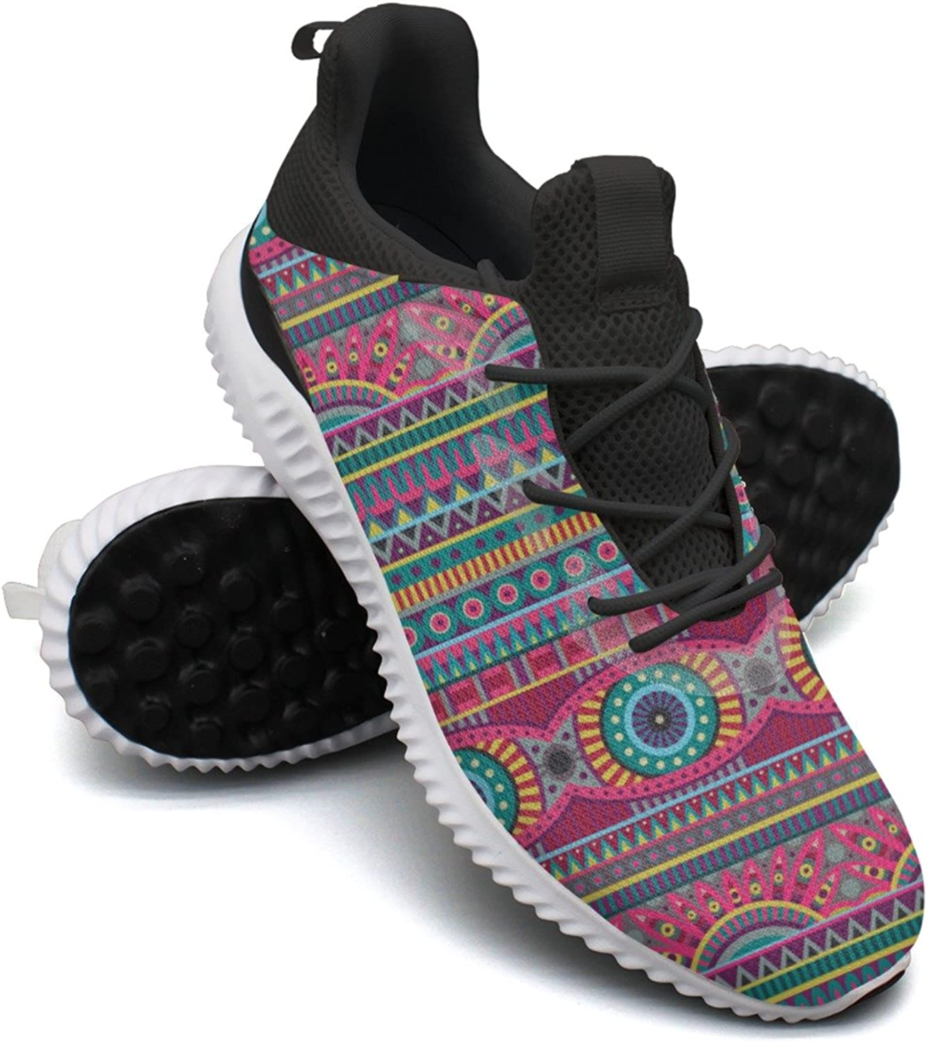 Flower Pattern Of African Leisure Sports Running shoes Woman Camping Hunting Mini