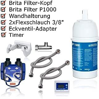 BRITA - Kit para instalación de Filtro de Agua bajo Lavabo