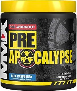 MuscleMaxx Pre Apocalypse, Pre-Workout, Blue Wraithberry, 11.28 oz (320 g)