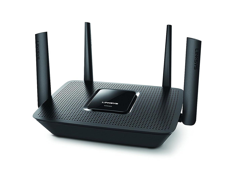Linksys Max-Stream AC2200 MU-MIMO Tri-Band Wireless Router, Works with Amazon Al