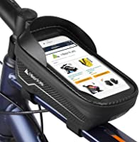 Large... Bicycle Phone Holder with Touch Screen Eamplest Bike Frame Bag