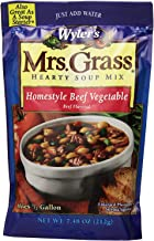 Mrs. Grass Homestyle Beef Vegetable Soup Mix 7.48oz (Pack of 3)