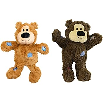Wild Knots Bears Durable Dog Toys Size:Small/Med Pack of 2