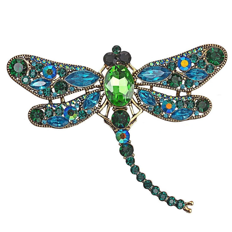 RICISUNG かわいとんぼの昆虫の胸飾りの服アクセサリーエナメル胸飾り誕生日ギフトジュエリー