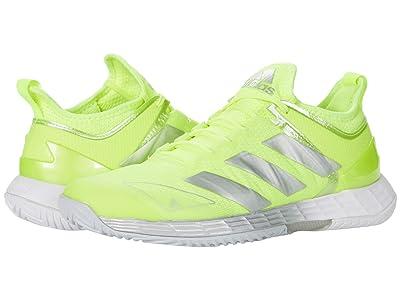 adidas Adizero Ubersonic 4 (Solar Yellow/Silver Metallic/Halo Blue) Women