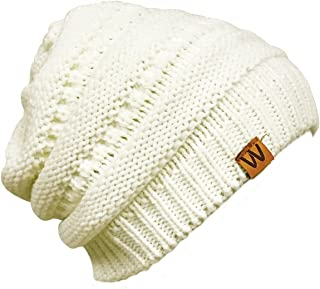 ALLYDREW Winter Thick Knit Beanie Slouchy Beanie for Men & Women