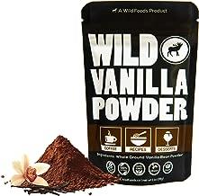 Vanilla Bean Powder, Raw Ground Vanilla Beans From Madagascar, Unsweet, Gluten-Free, Raw, All-Natural, Non-GMO, Vegan, Paleo (1 ounce)