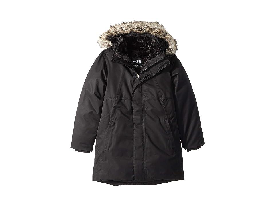 The North Face Kids Arctic Swirl Down Jacket (Little Kids/Big Kids) (TNF Black/TNF Black) Girl