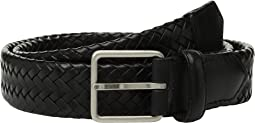 32mm Woven Leather Strap Belt