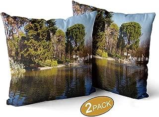 Nine City Quinta de Los molinos Lake Pillow Case,118085 Sofa Bed Throw Cushion Cover Decoration,18