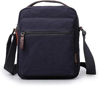 XINCADA Man Bags Small Messenger Bag Canvas Crossbody Shoulder Bag Man Purses and Bags for Men and Women